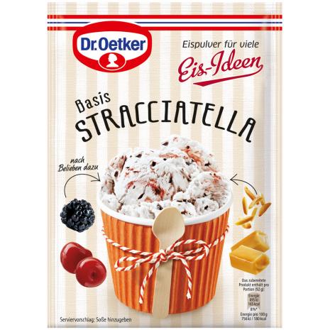 Dr. Oetker Ice Cream Idea, Stracciatella Flavor