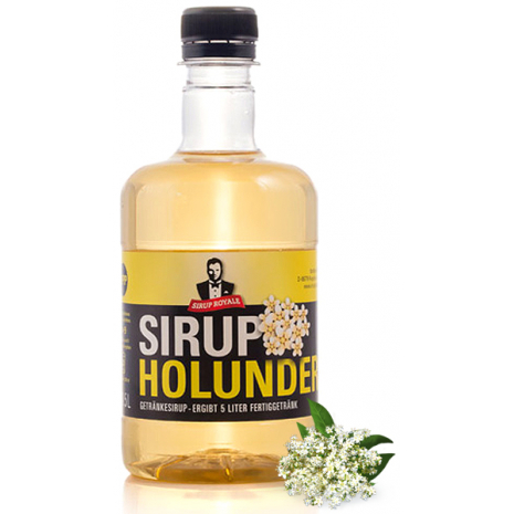 Sirup Royale Beverage Syrup Elderflower Flavor