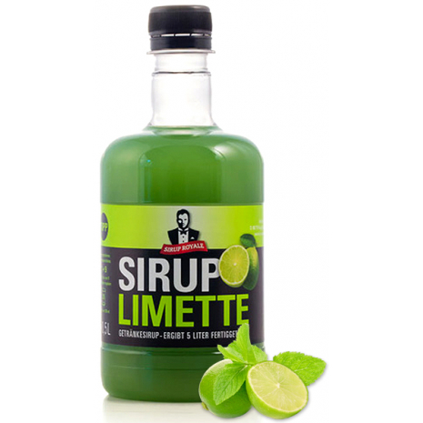 Sirup Royale Beverage Syrup Lime Flavor