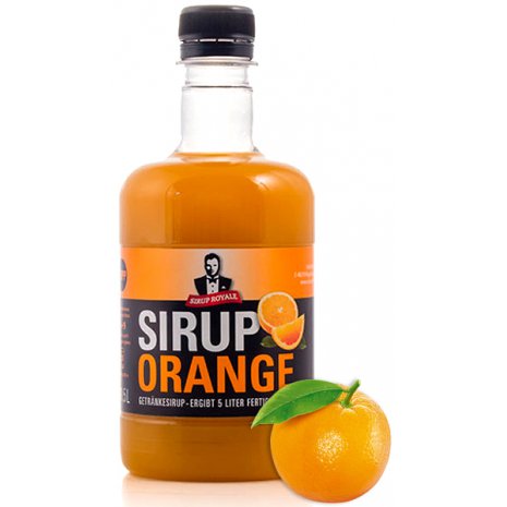 Sirup Royale Beverage Syrup Orange Flavor