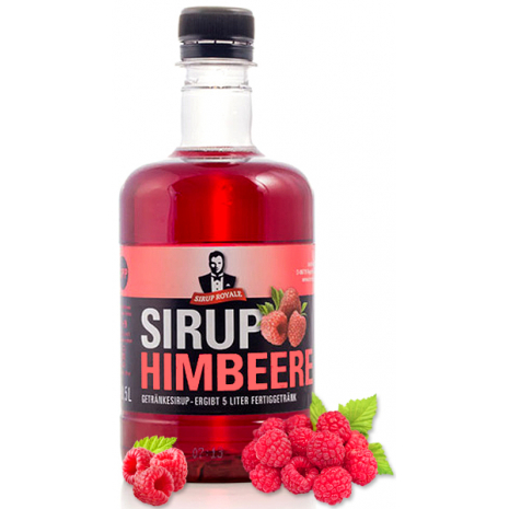 Sirup Royale Beverage Syrup Raspberry Flavor