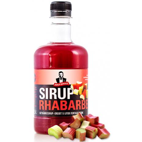 Sirup Royale Beverage Syrup Rhubarb Flavor
