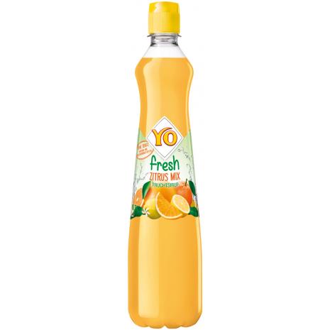 YO Beverage Syrup Fresh Citrus Mix