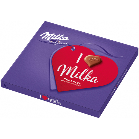 I Love Milka Chocolates Hazelnut Cream