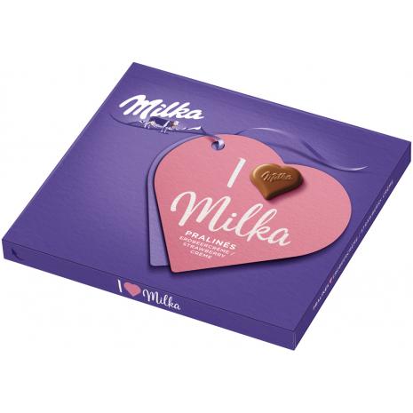 I Love Milka Chocolates Strawberry Cream
