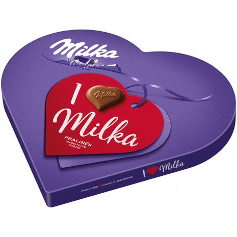 I Love Milka Gift Heart 5.82 oz