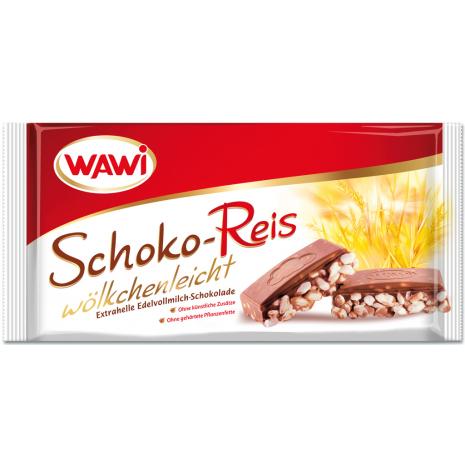 Wawi Puffed Rice Milk Chocolate 7.05 oz