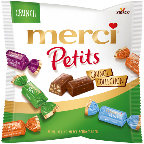 Storck Merci Petits Crunch Collection 4.41 oz