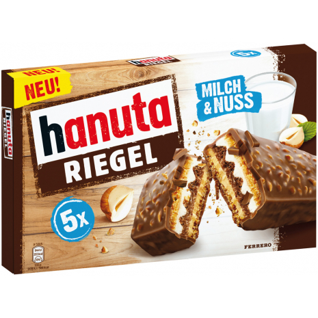 Ferrero Hanuta Snack Bars 5-Pack