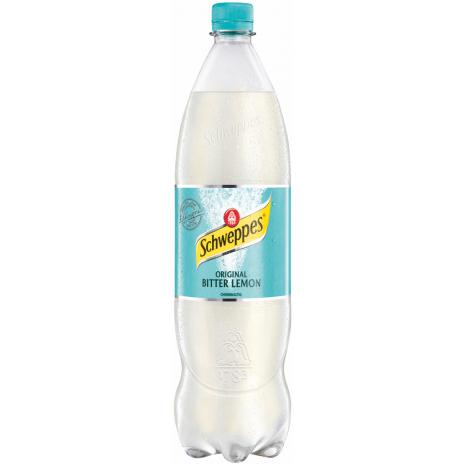 Schweppes Bitter Lemon 1.25L PET Bottle