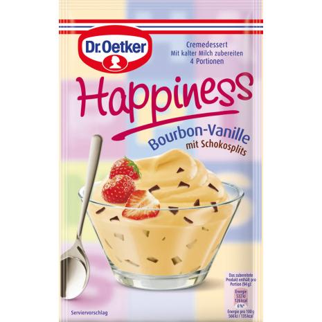 Dr. Oetker Happiness Bourbon-Vanilla