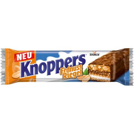 Storck Knoppers Peanut Bars Individually Wrapped