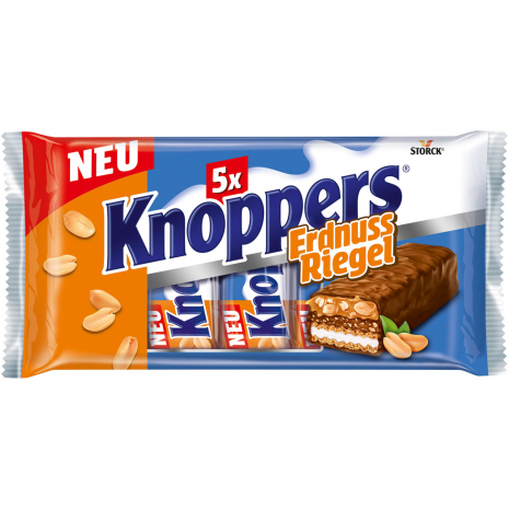 Storck Knoppers Peanut Bars 5-Pack