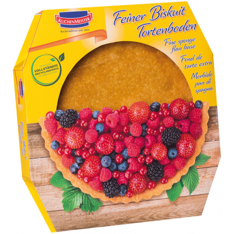 Kuchenmeister Biscuit Cake Base 8.82 oz