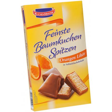 Kuchenmeister Baumkuchen Bites Orange Liqueur 4.41 oz