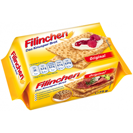 Filinchen Crispbread Original 2.65 oz