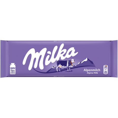 Milka Alpine Milk Chocolate 9.52 oz New Design