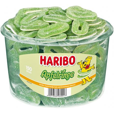 Haribo Apple Rings 2.65 lbs Tub