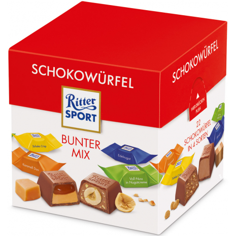 """Ritter Sport Chocolate Cubes """"Variety"""""""