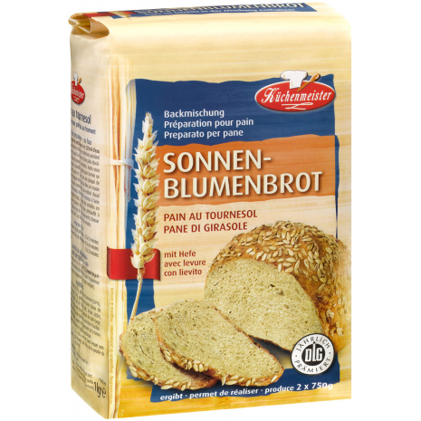 Kuechenmeister Baking Mix for Sunflower Seed Bread 2.20 lbs