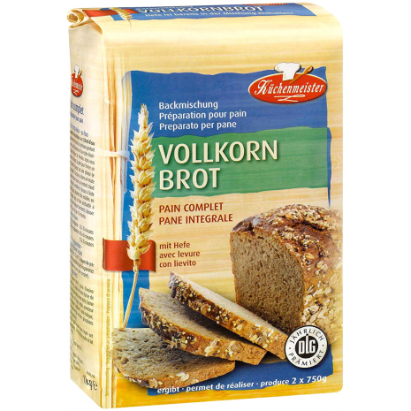 Kuechenmeister Baking Mix for Wholegrain Bread 2.20 lbs