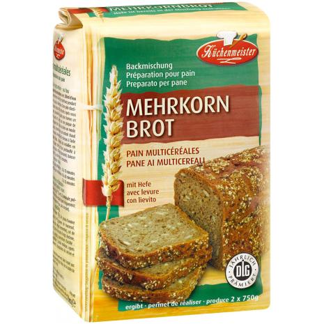 Kuechenmeister Baking Mix for Multigrain Bread 2.20 lbs