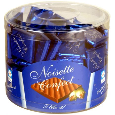 Eichetti Noisette Confect Squares 17.6 oz Tub