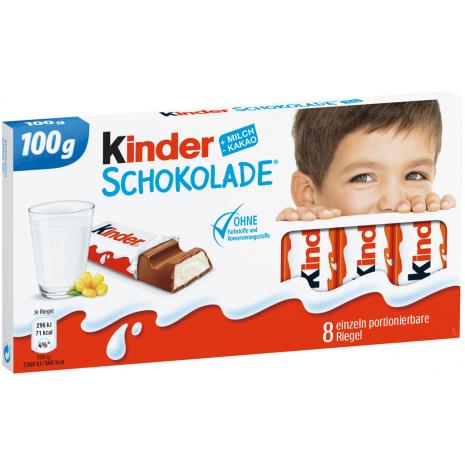 Ferrero Kinder Chocolate, 8 Bars, 3.53 oz