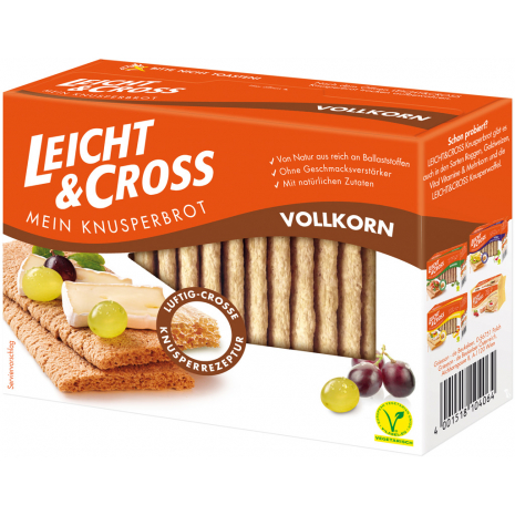 De Beukelaer Leicht & Cross Wholegrain 4.41 oz