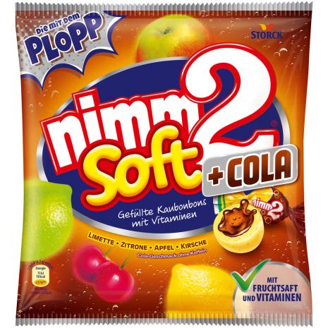 Storck Nimm2 Soft + Cola 6.88 oz Bag