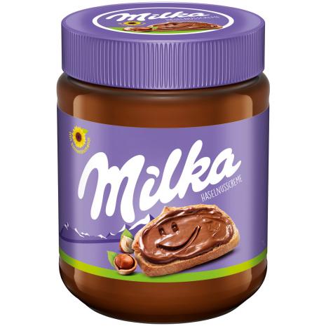 Milka Hazelnut Cream Spread 12.3 oz Jar