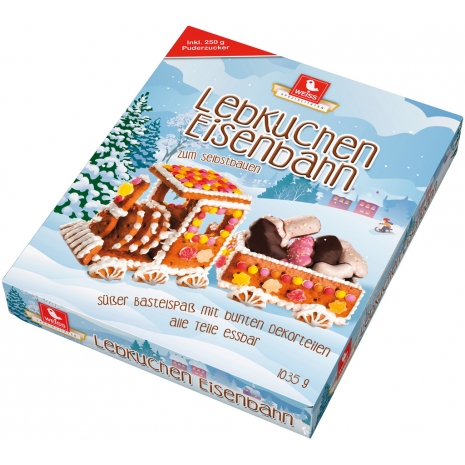 Weiss Gingerbread Train Kit 2.28 lbs