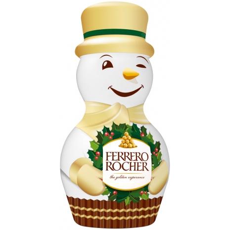 Ferrero Rocher Snowman Design 2
