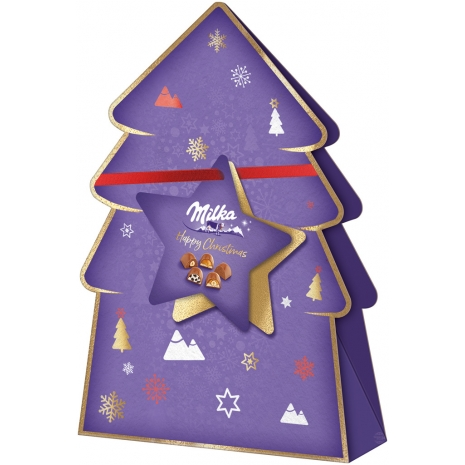 Milka Pralines Large Christmas Present 5.36 oz