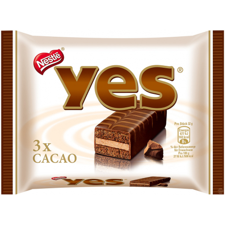Nestlé Yes Cake Bars Cocoa 3-Pack