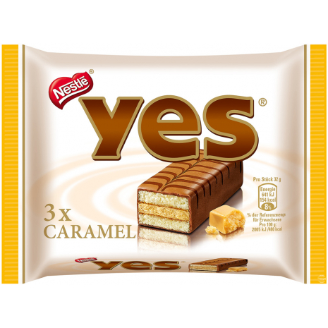 Nestlé Yes Cake Bars Caramel 3-Pack