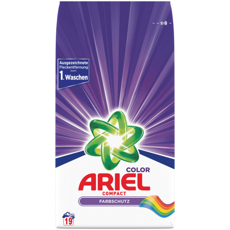 Ariel Compact Color Detergent 19 WL