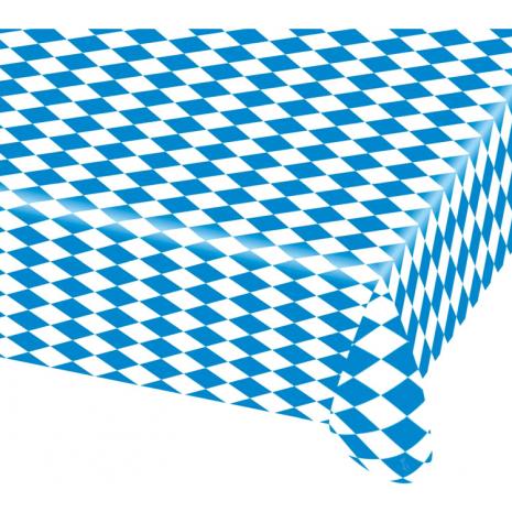 Plastic Table Cover Bavaria 80 x 260 cm / 31.5 x 102 inches