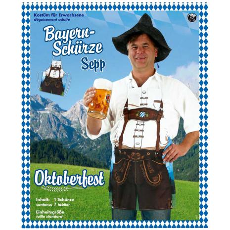 "Bavarian Apron ""Sepp"" 1 Piece"