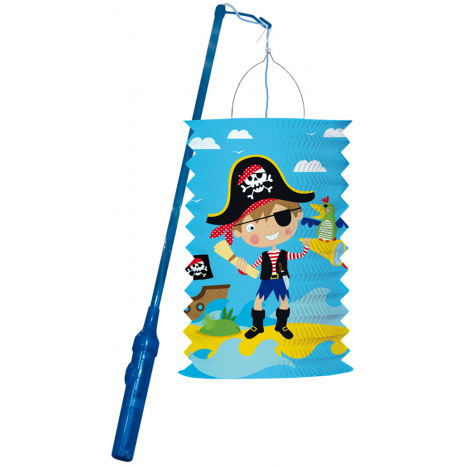 """Riethmueller Lantern Kit """"Little Pirate"""" For Toddlers"""