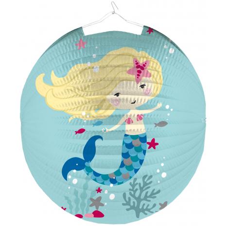 """Riethmueller Lantern """"Be A Mermaid"""" Ø 25 cm / 9.8 inches"""