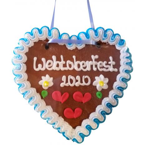 """Gingerbread Heart Medium """"WebtoberFest 2020"""""""