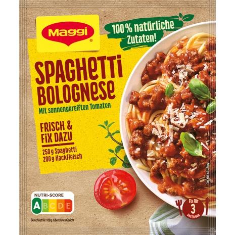 Maggi Fix for Spaghetti Bolognese