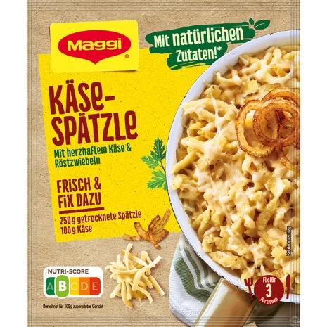 Maggi Fix for Cheese Spaetzle