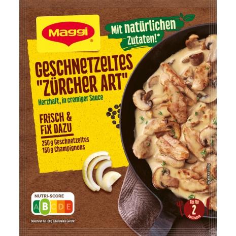 Maggi Fix for Geschnetzeltes Zurich Style