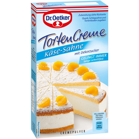 Dr. Oetker Cake Cream, Cheese Cream Flavor