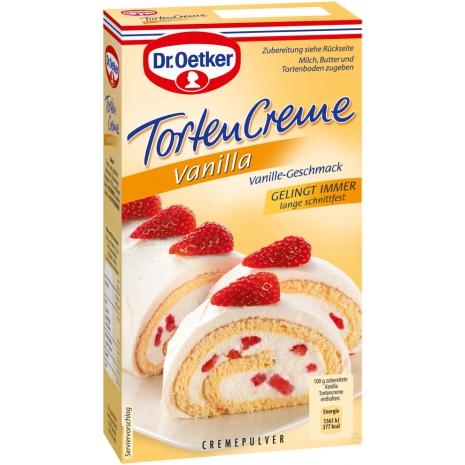 Dr. Oetker Cake Cream, Vanilla Flavor