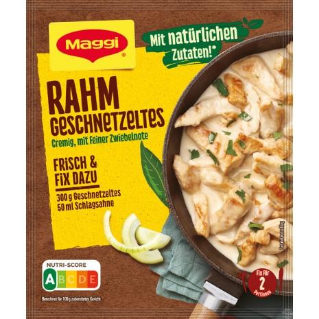 Maggi Fix for Geschnetzeltes in Creamy Sauce