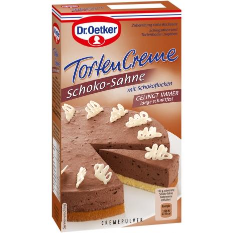 Dr. Oetker Cake Cream, Chocolate Cream Flavor