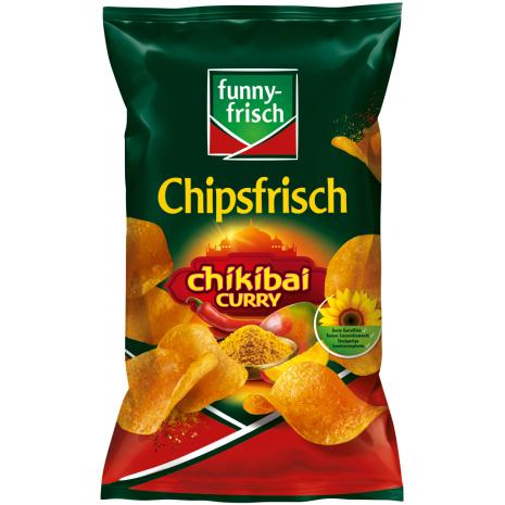 funny-frisch Chipsfrisch Chikibai Curry 6.17 oz